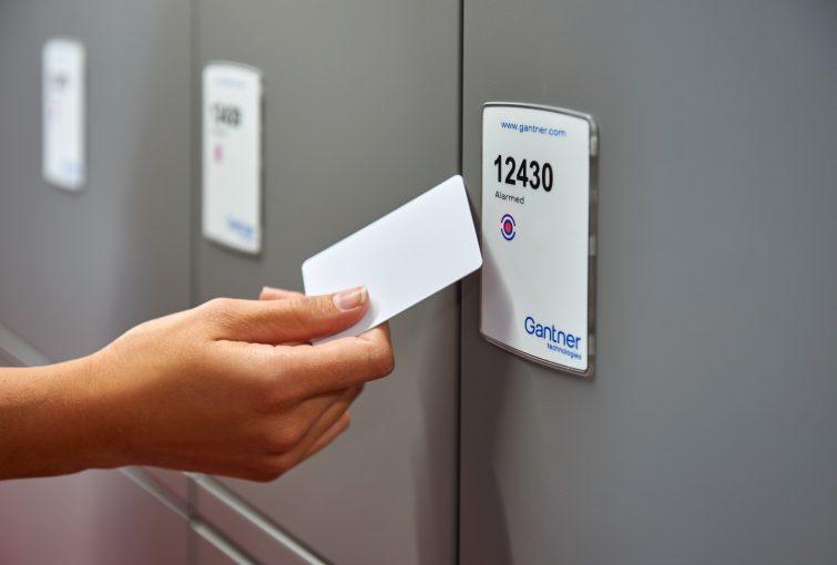 Gantner Access Control Locker Use